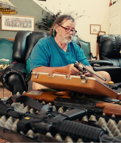Image - Dr. John Moore talks about his Firearm Collection.JPG