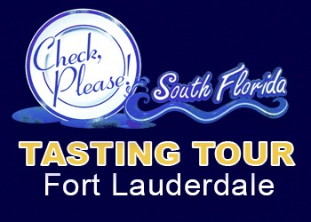 Check, Please Tasting Tour Event Fort Lauderdale