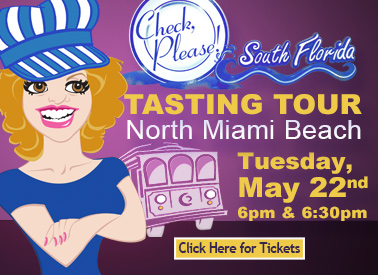Check, Please Tasting Tour Event North Miami Beach