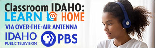 Classroom Idaho: Learn @ Home via over-the-air antenna on IdahoPTV