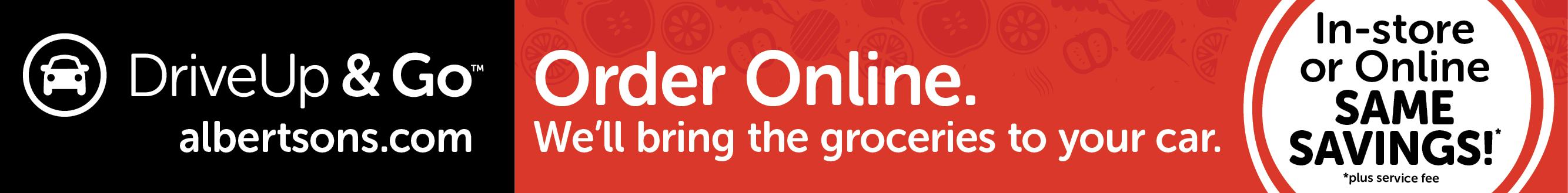 Albertsons.com, Order Online