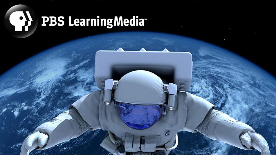 PBS LearningMedia - astronaut hovering over earth