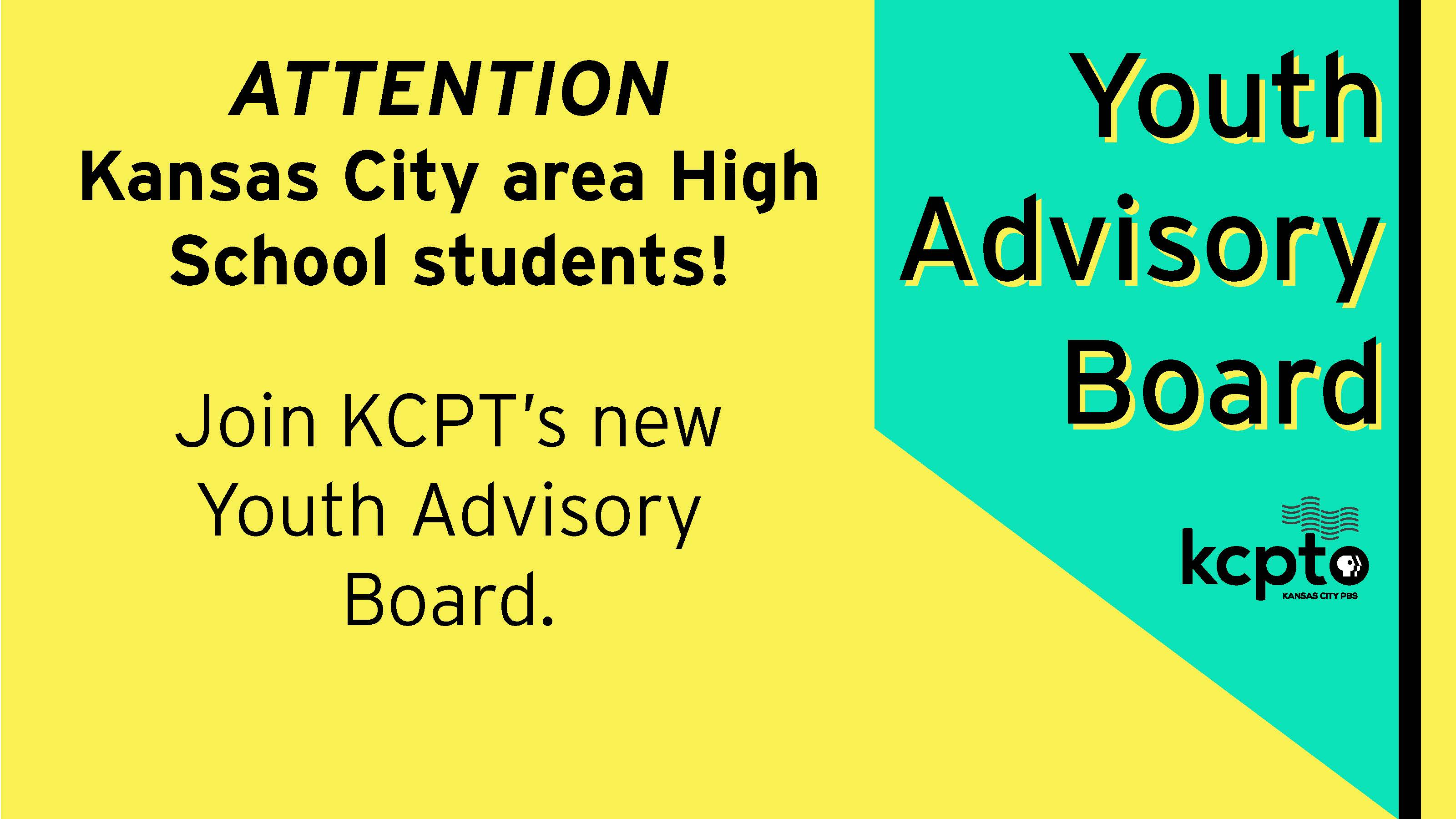 Join KCPT's Youth Advisory Board