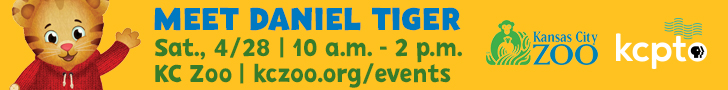 Meet Daniel Tiger Sat. 4/28 10 a.m.-2 p.m. KC Zoo - kczoo.org/events