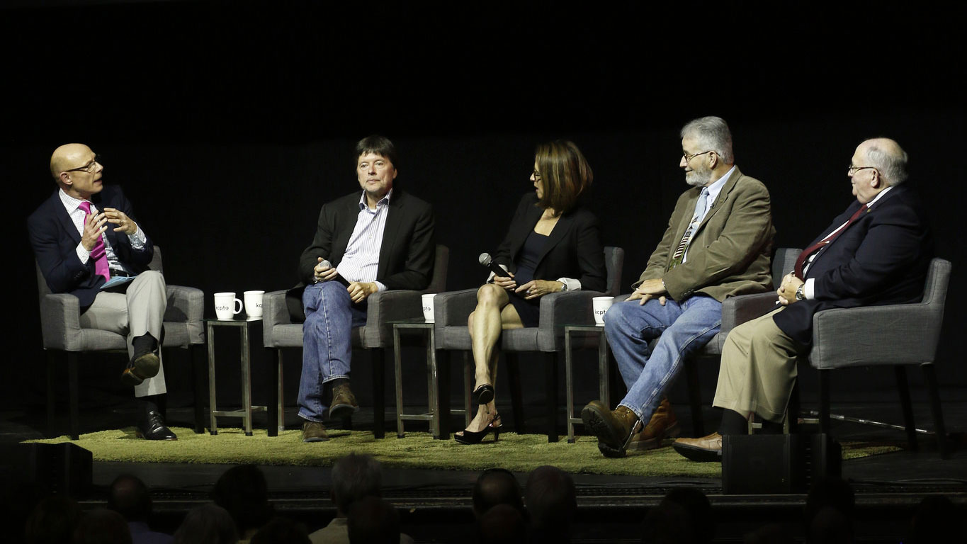 Ken Burns & Lynn Novick In Kansas City