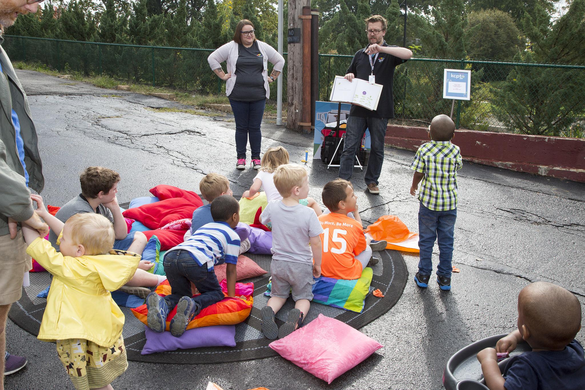 Kids at storytime