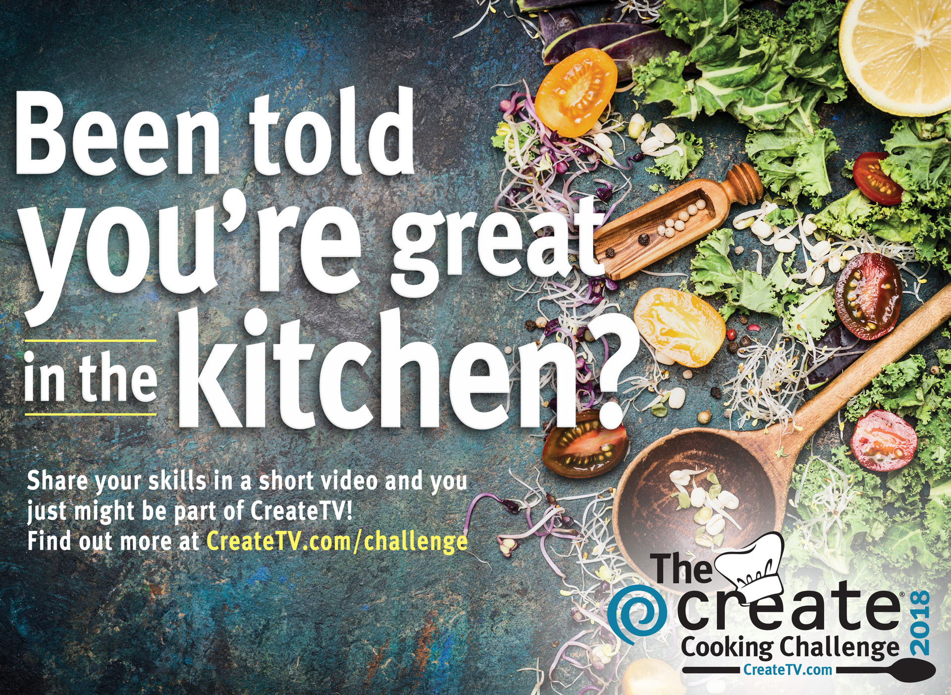 2018 Create Cooking Challenge