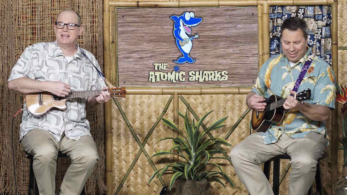 Play the Ukulele with The Atomic Sharks