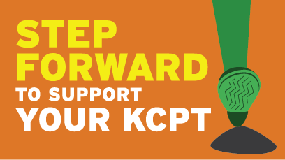 Step Forward to Support Your KCPT