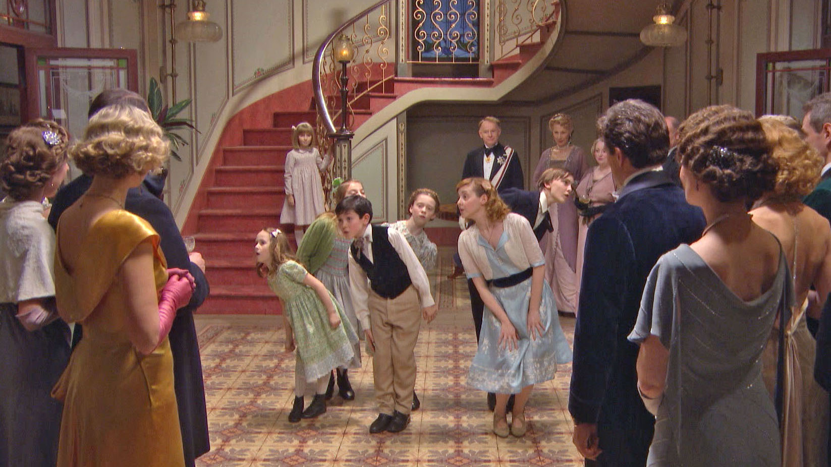"""Scene from the 2015 live U.K. broadcast version of """"The Sound of Music."""""""