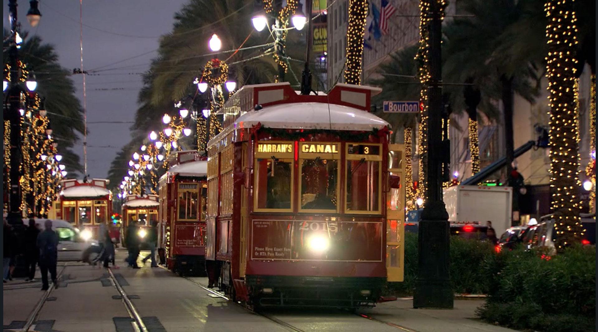Lights in the Park. Photo courtesy of Louisiana Public Broadcasting.