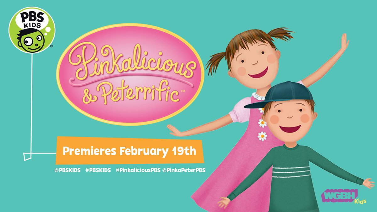 PINKALICIOUS & PETERIFFIC Library Storytimes