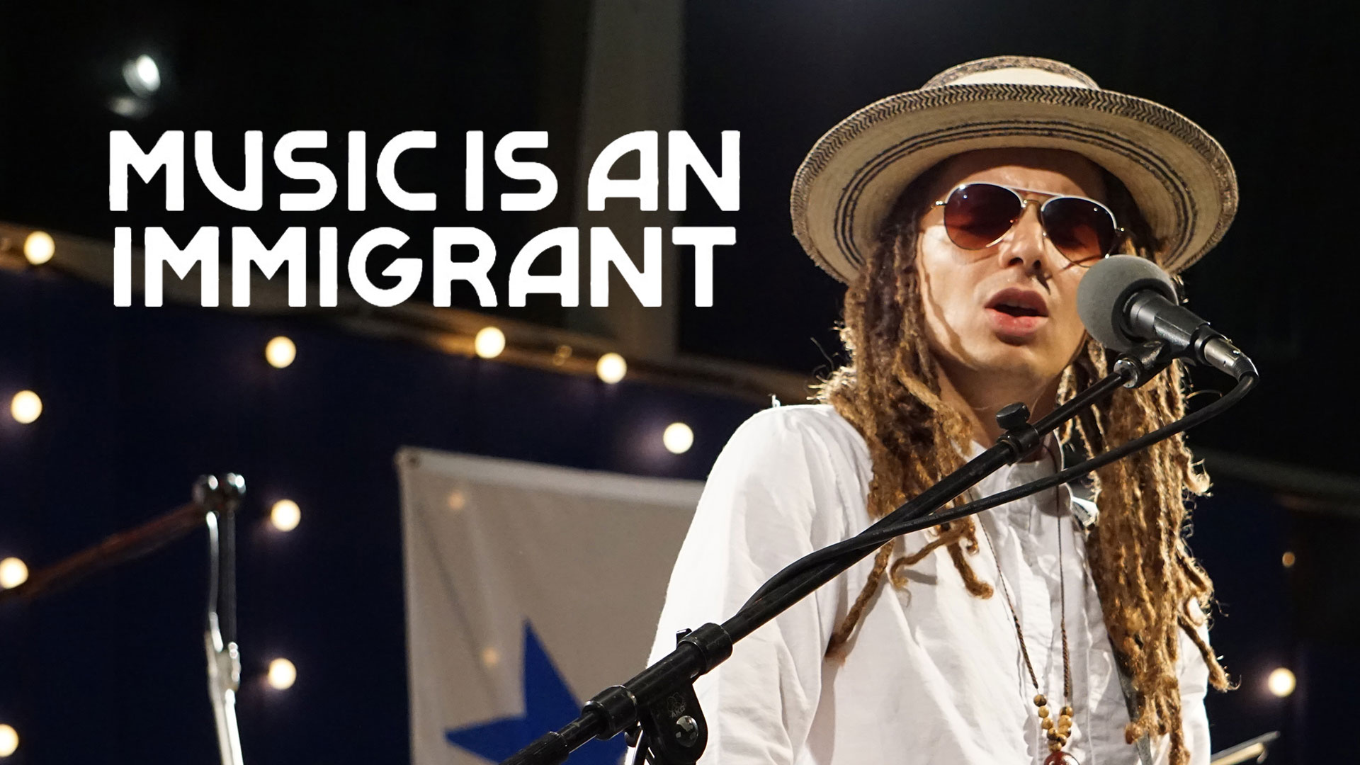 Music is an Immigrant - Enrique Chi