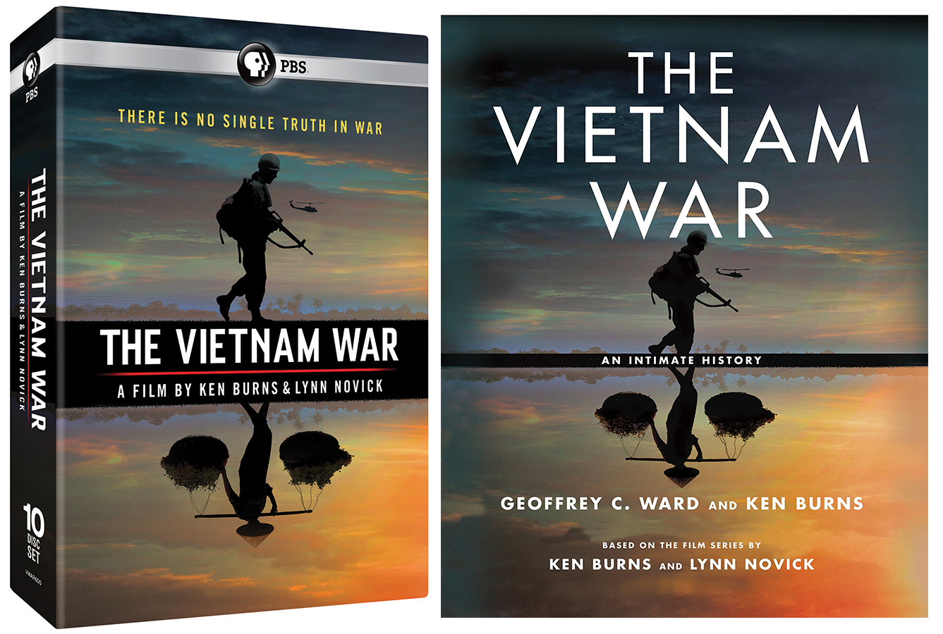 The Vietnam War DVD and Book