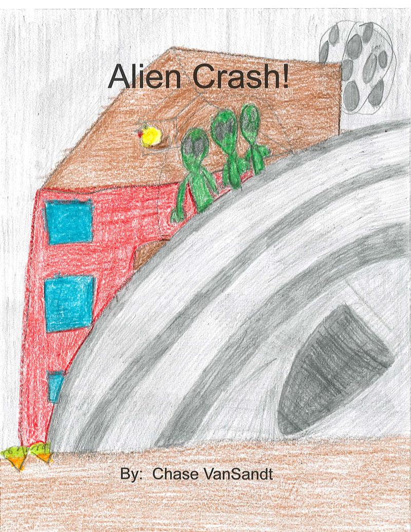 Alien Crash by Chase VanSandt