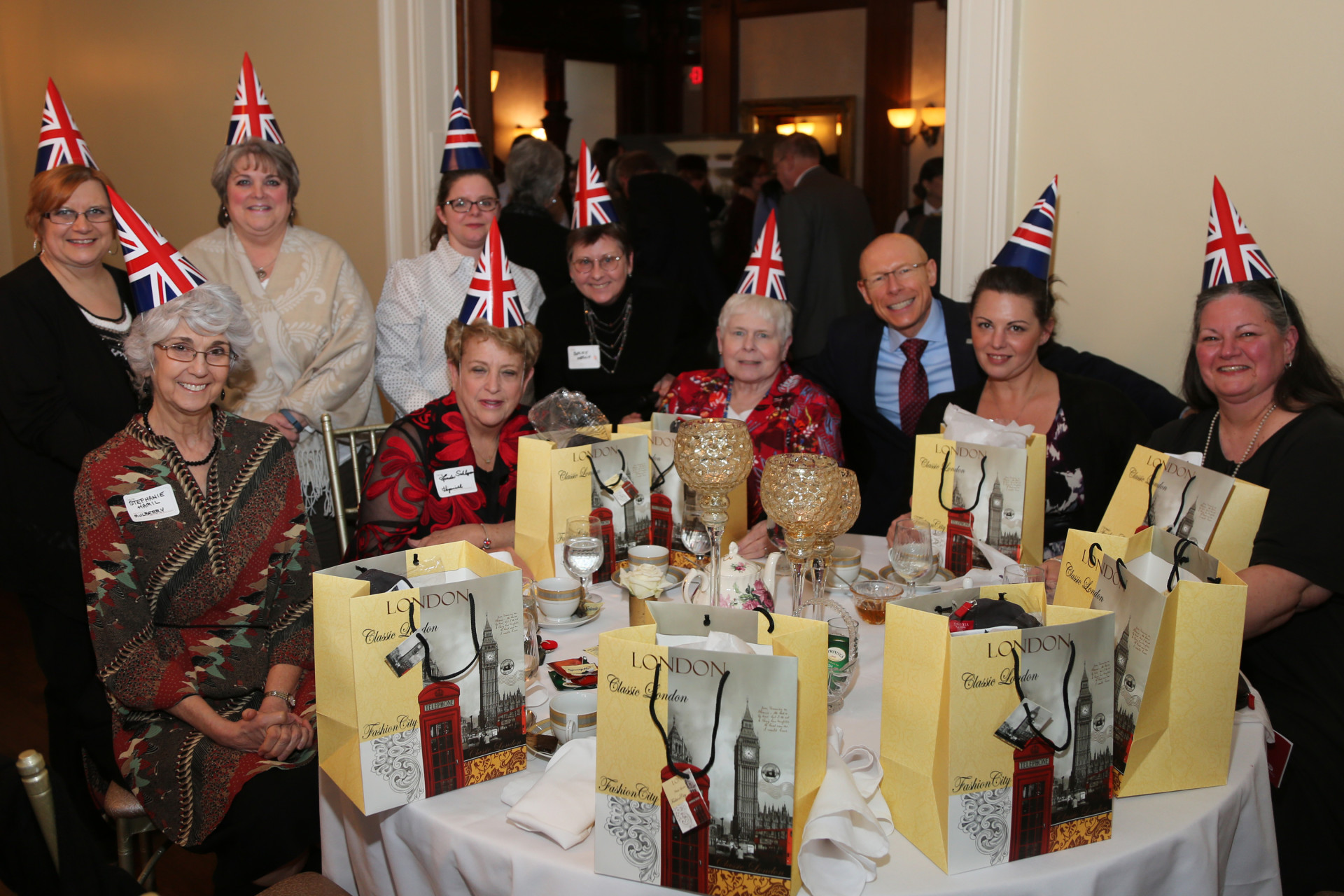 Annual British Tea Event