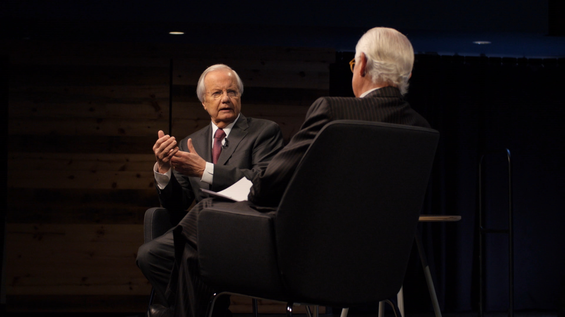 A Conversation with Bill Moyers