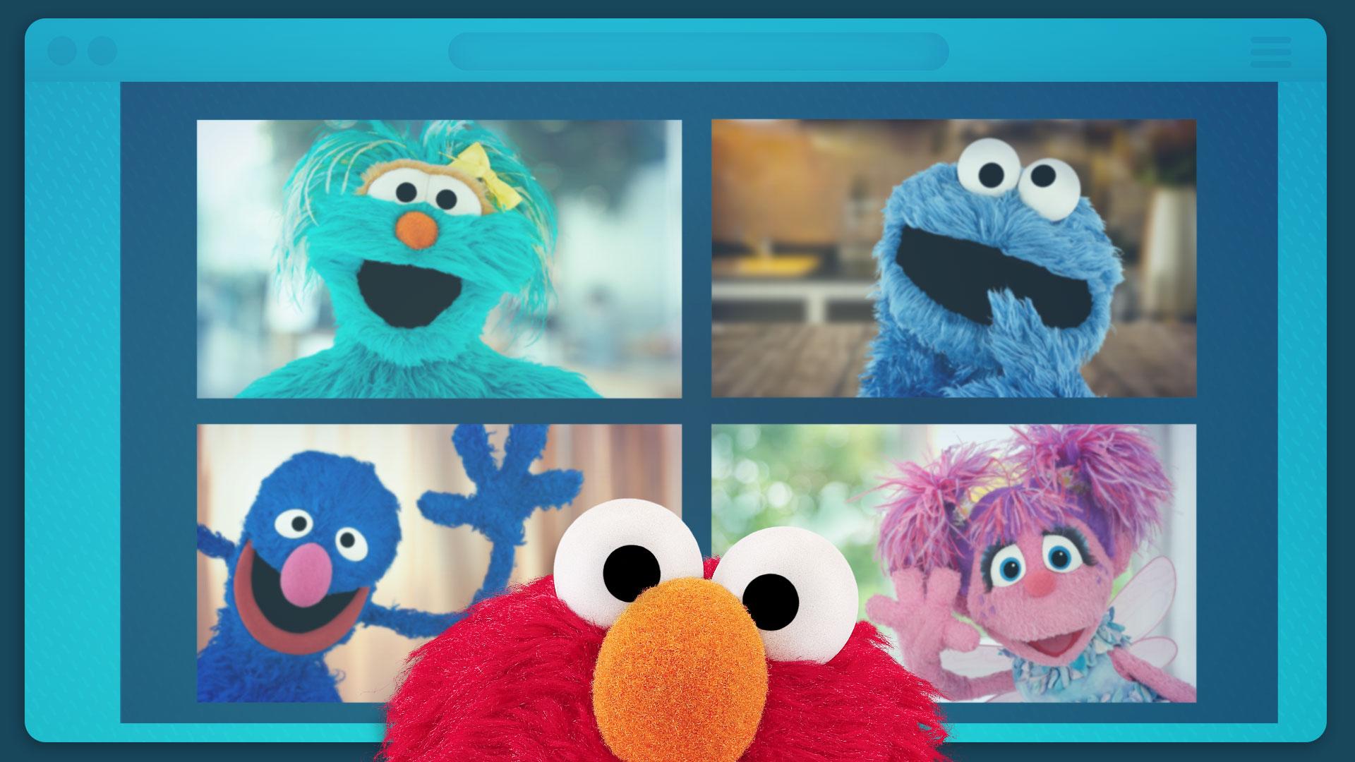 Sesame Street: Elmo's Playdate Premieres April 14
