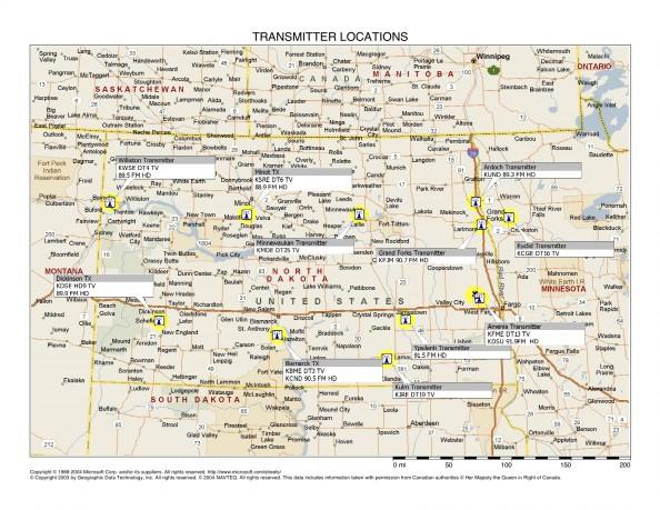 Transmitter Locations
