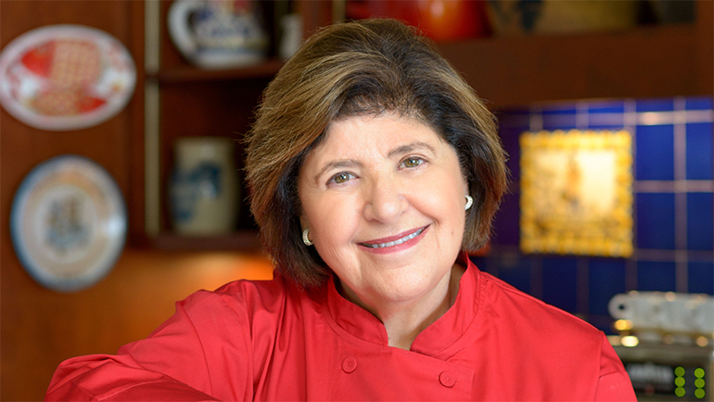Mary Ann Esposito-Cooking