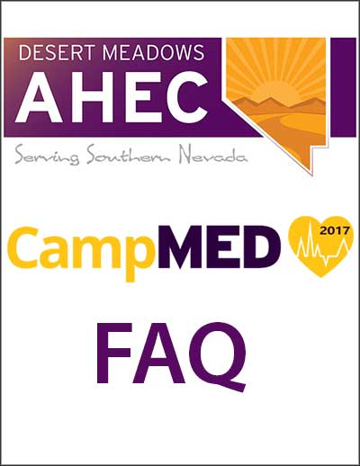 CampMED Frequently Asked Questions