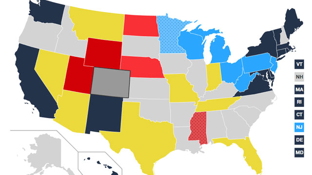 Midterm Elections 2018 Map