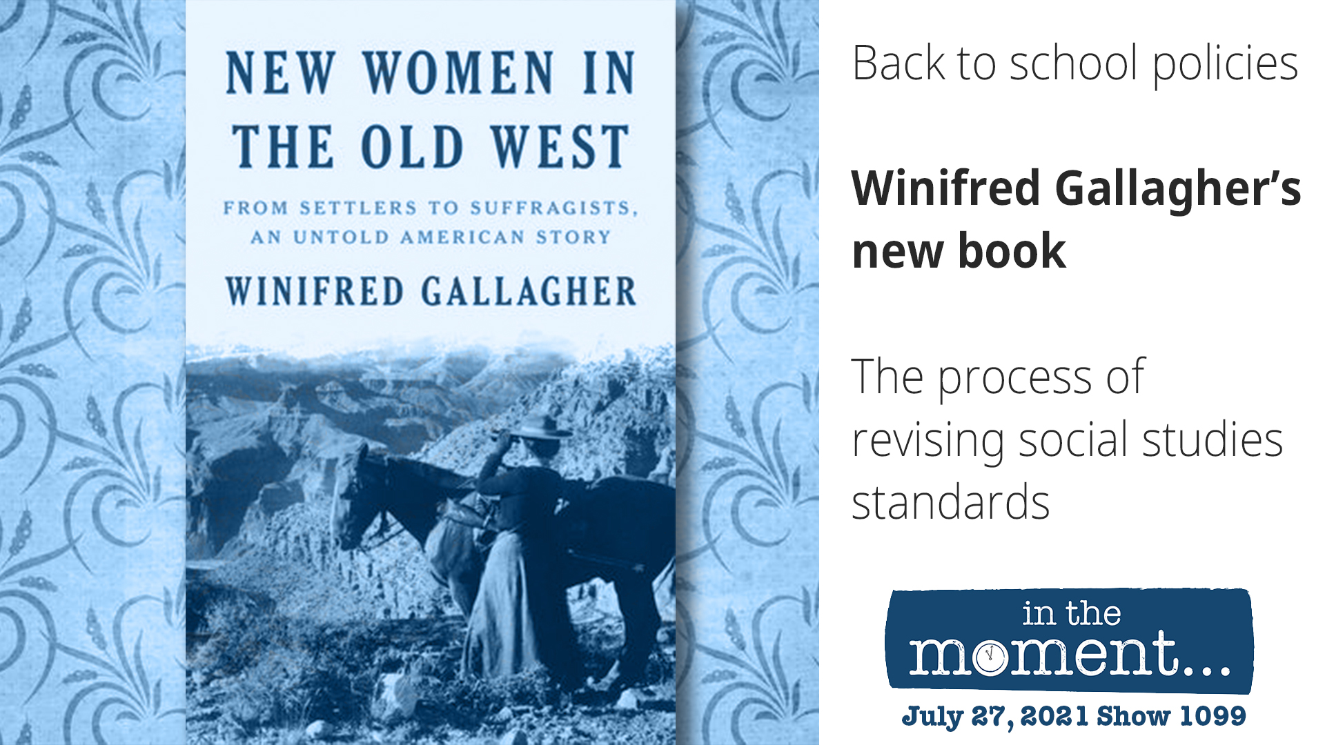 The Women Who Shaped The West             Menu