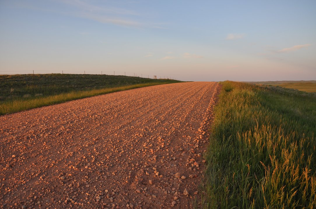 Scoria road near Wibaux MT