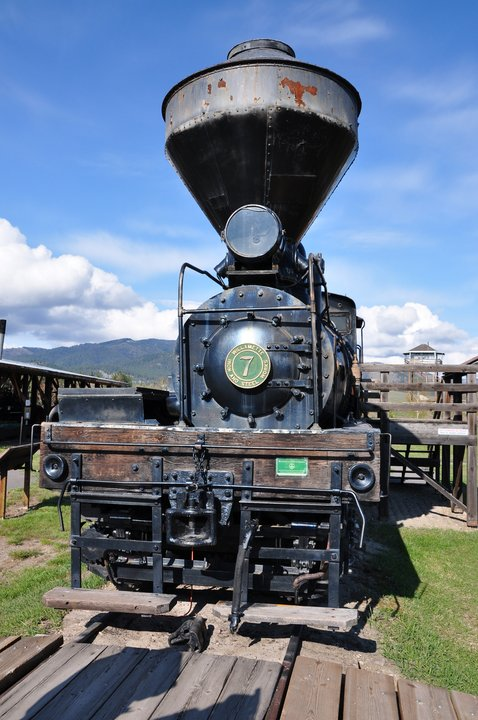 1923 Shay Locomotive, Fort Missoula