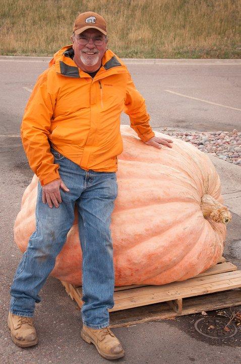 William Marcus Emmett May giant pumpkin Polson