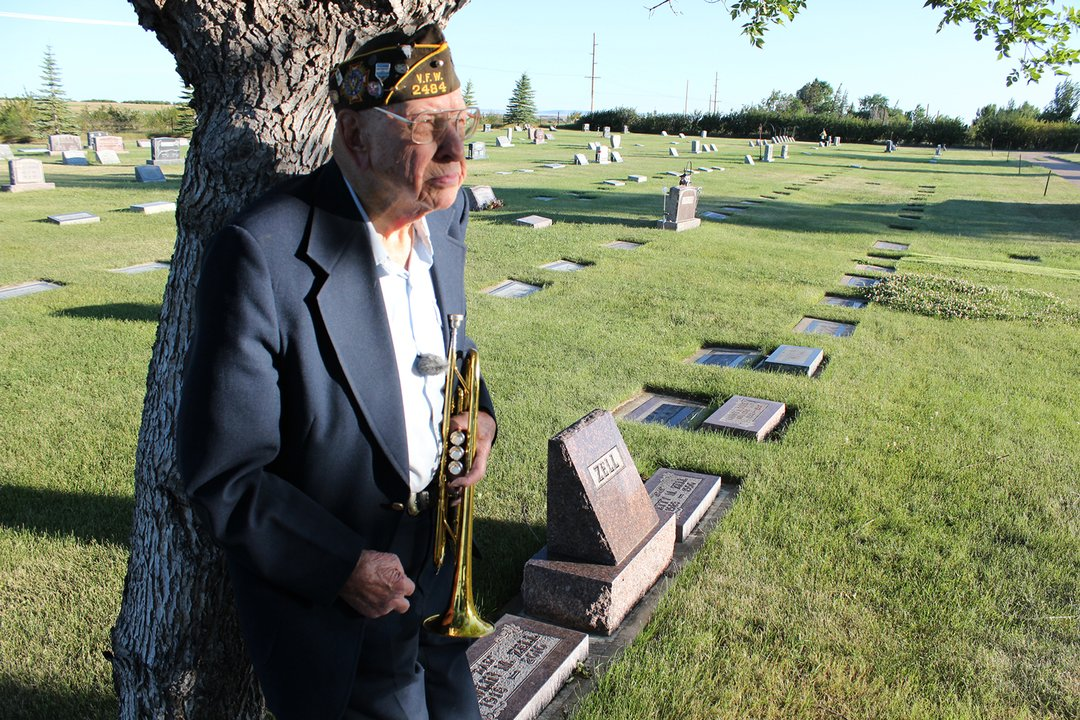 Ray Zell annual Memorial Day ceremony