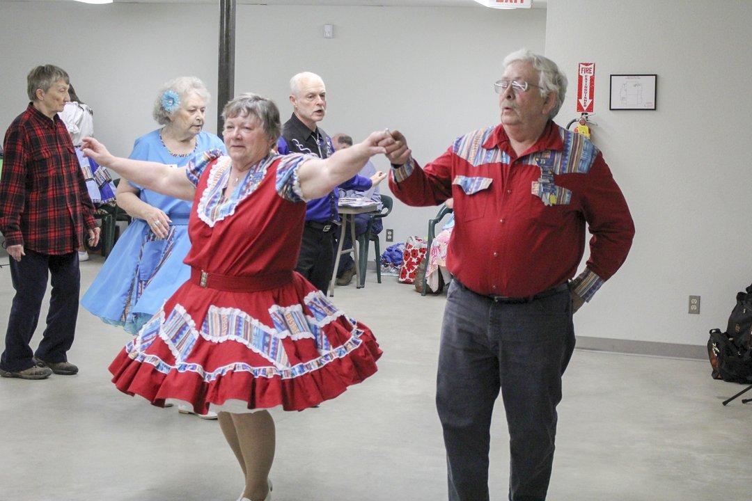Karen Lee Roger Jones Kalispell 20 years Montana Mavericks Square Dance Club