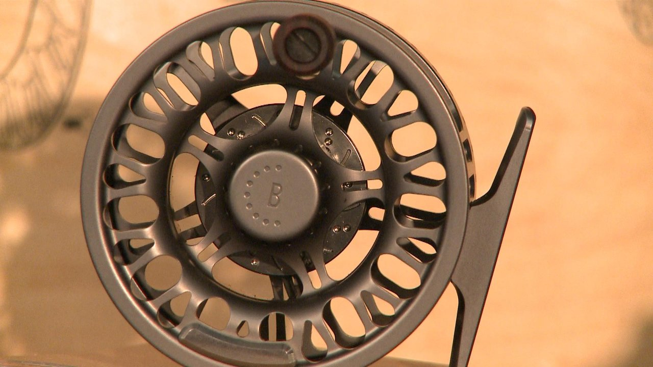 Bozeman Reel Company Montana-made Fly-fishing reel