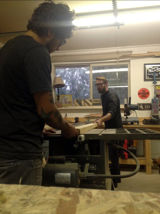 Mike Hanich and Wes Roemmich of Fang Mountain Wilderness Hardware