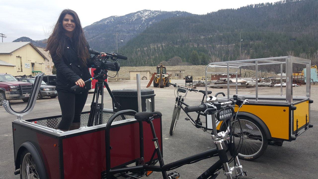 Mederios Whitworth-Babb tells story of Coaster Pedicab