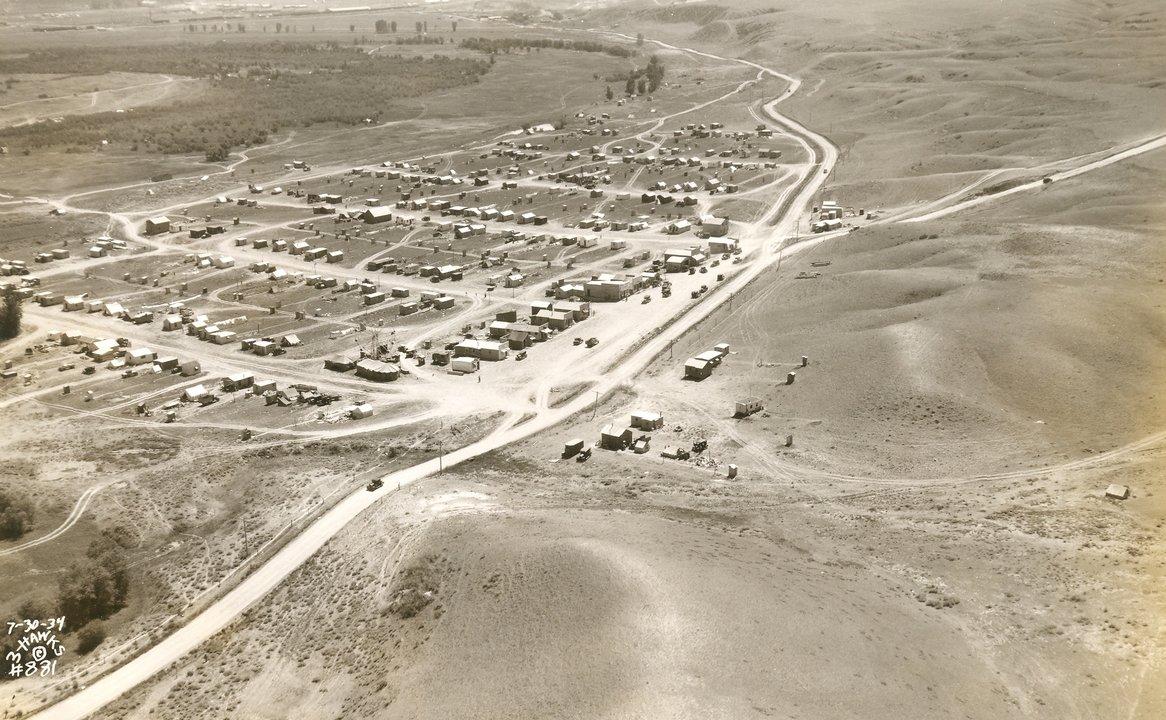 New Deal MT Montana Fort Peck Dam