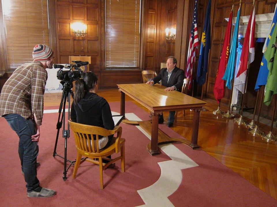 Governor Schweitzer Internet impact in Montana