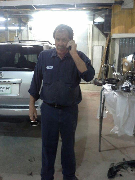 Tom Fitzpatrick autobody repair shop in Kalispell