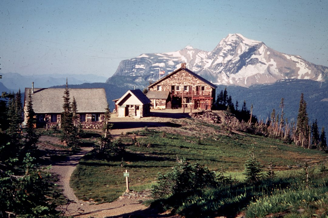 cabin 1960 glacier park night of the grizzlies park's