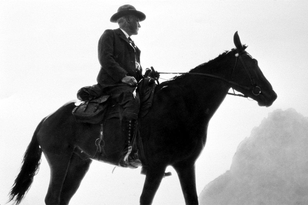 1916 Steven T Mather 1st Director of National Park Service Glacier Park Archives