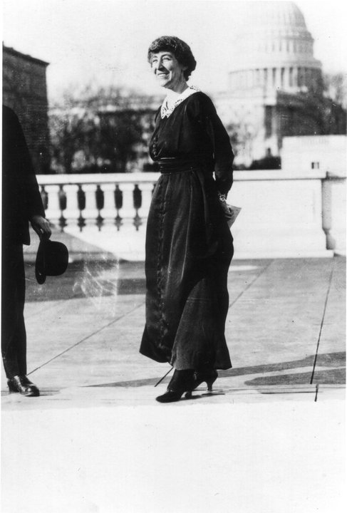 Congresswoman Jeannette Rankin Washington DC 1918