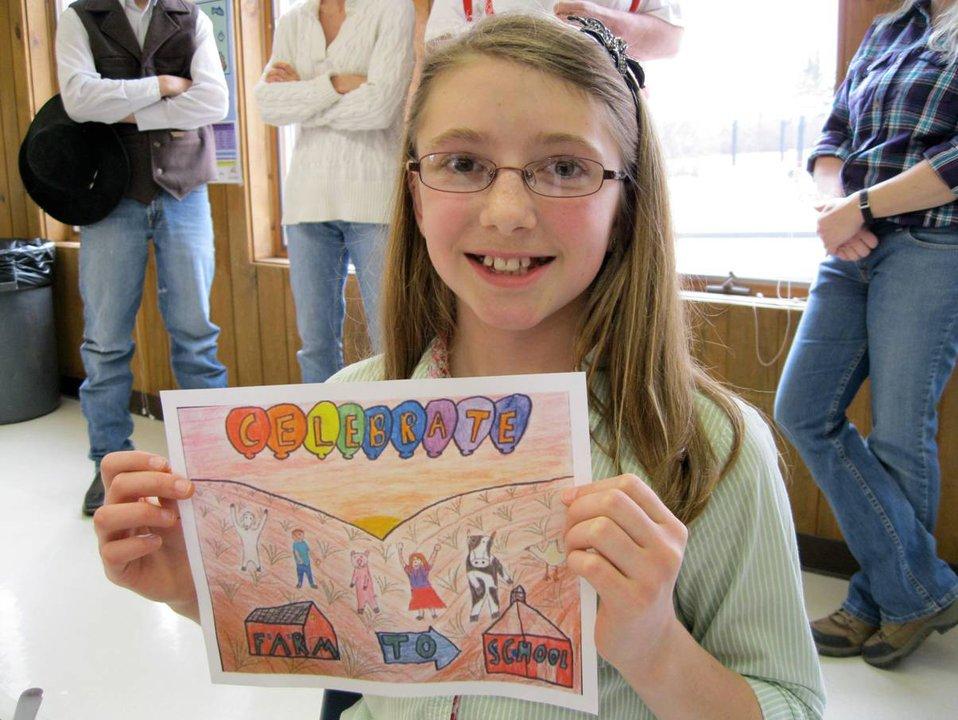 Caroline Roeder Greenfield School winning poster