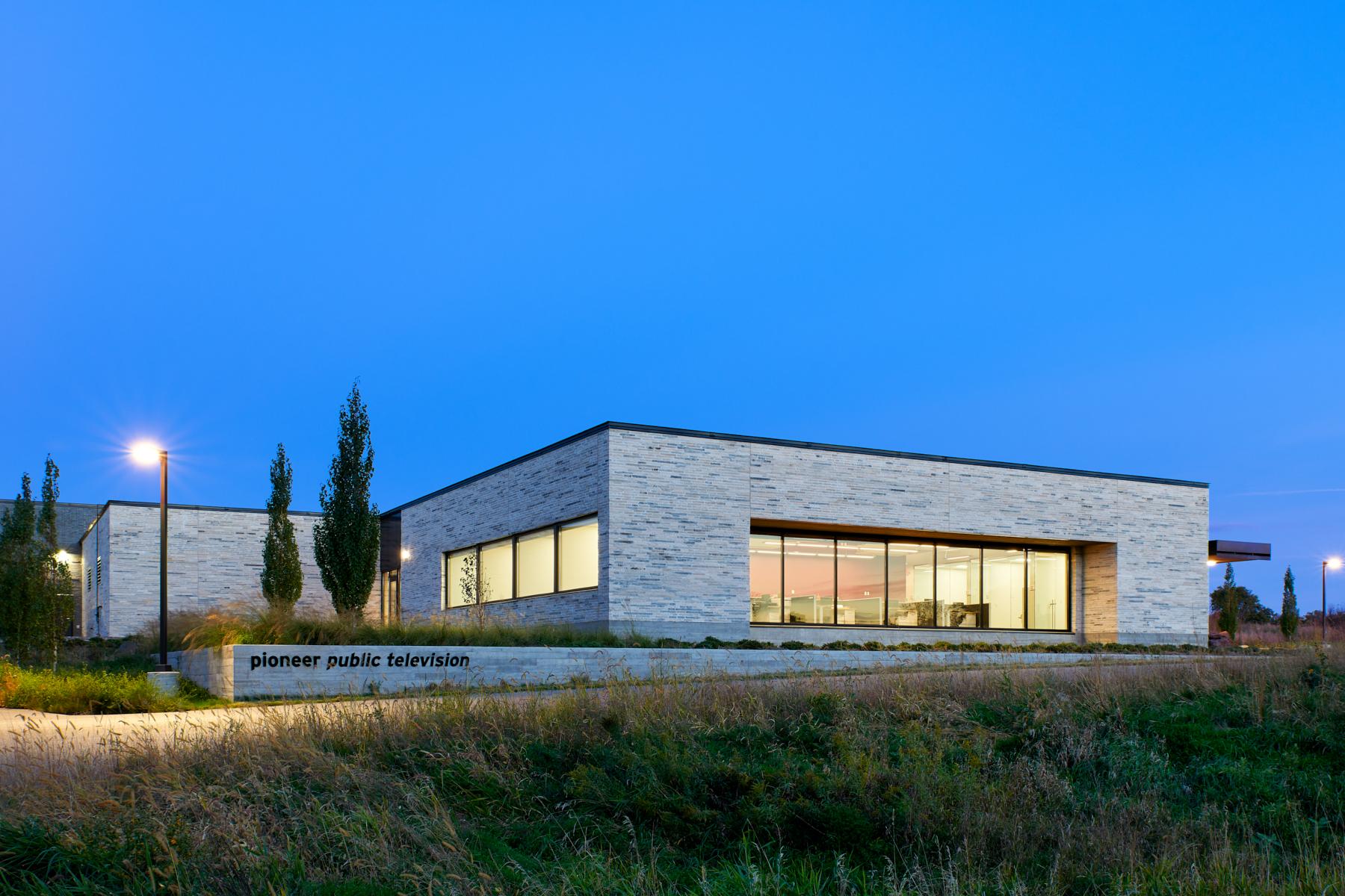 Pioneer new building image