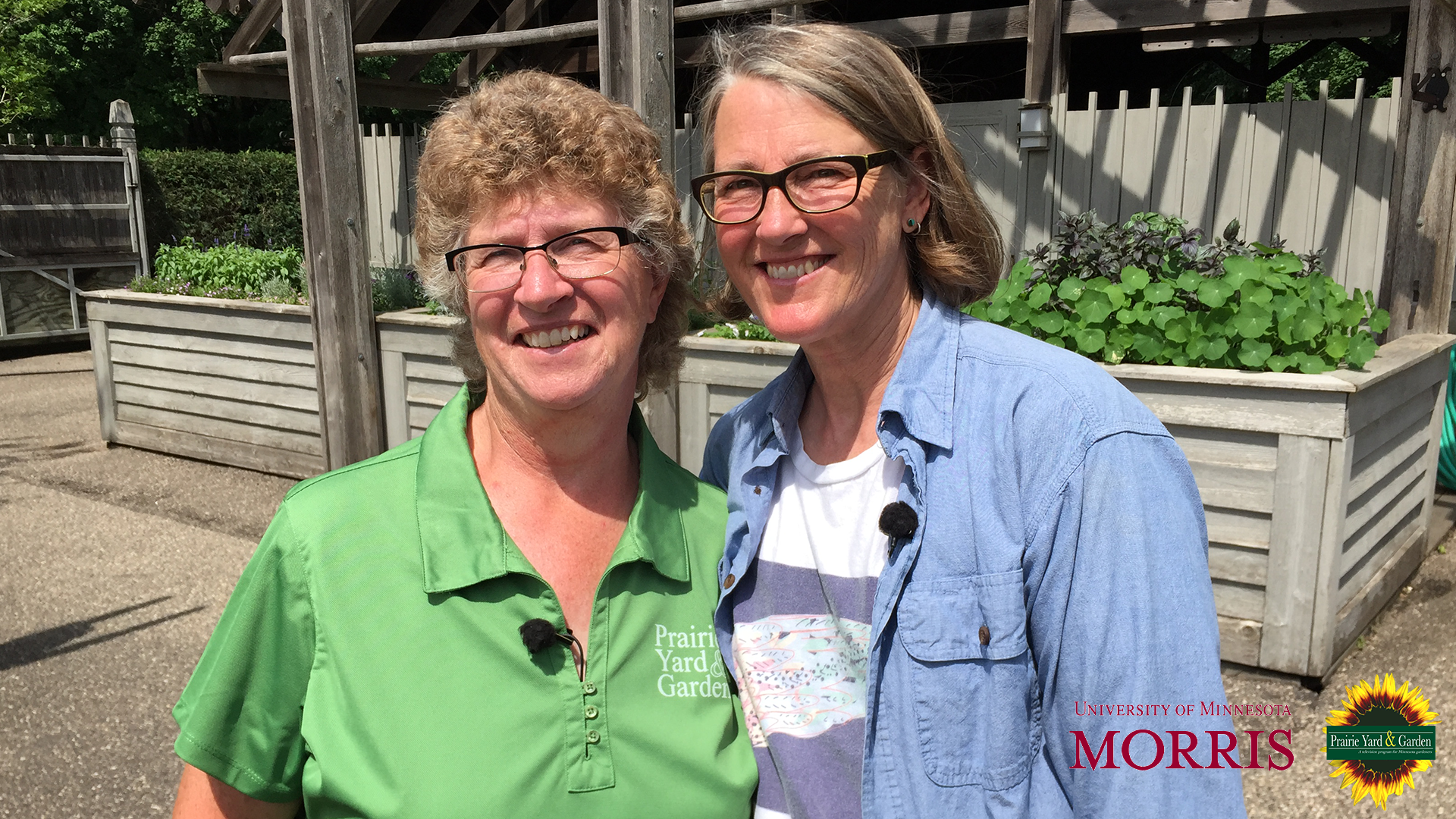 Mary Holm and Jean Larson