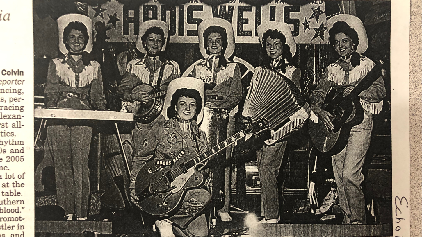 Ardis Wells and the Rhythm Ranch Gals