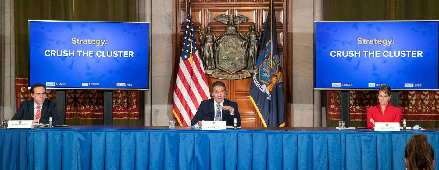 NY Reports More Than 1,000 COVID-19 Hospitalizations for First Time Since June