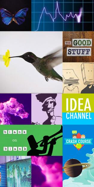 Collage of Digital Studios show promo images