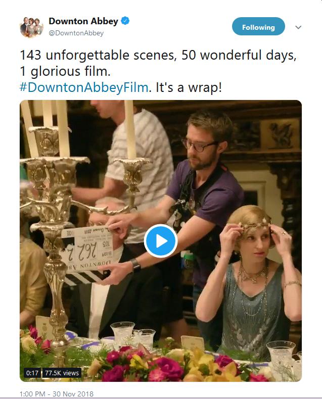 Downton Abbey - It's a Wrap!