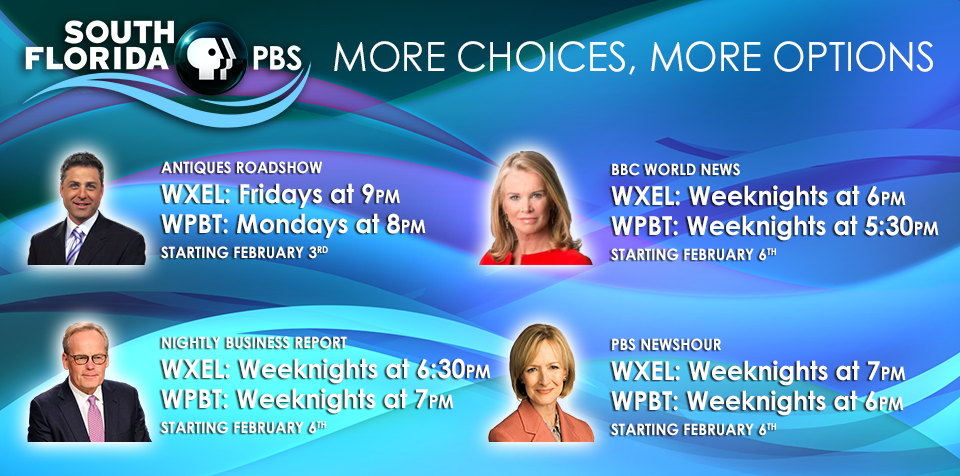 New schedule changes for South Florida PBS