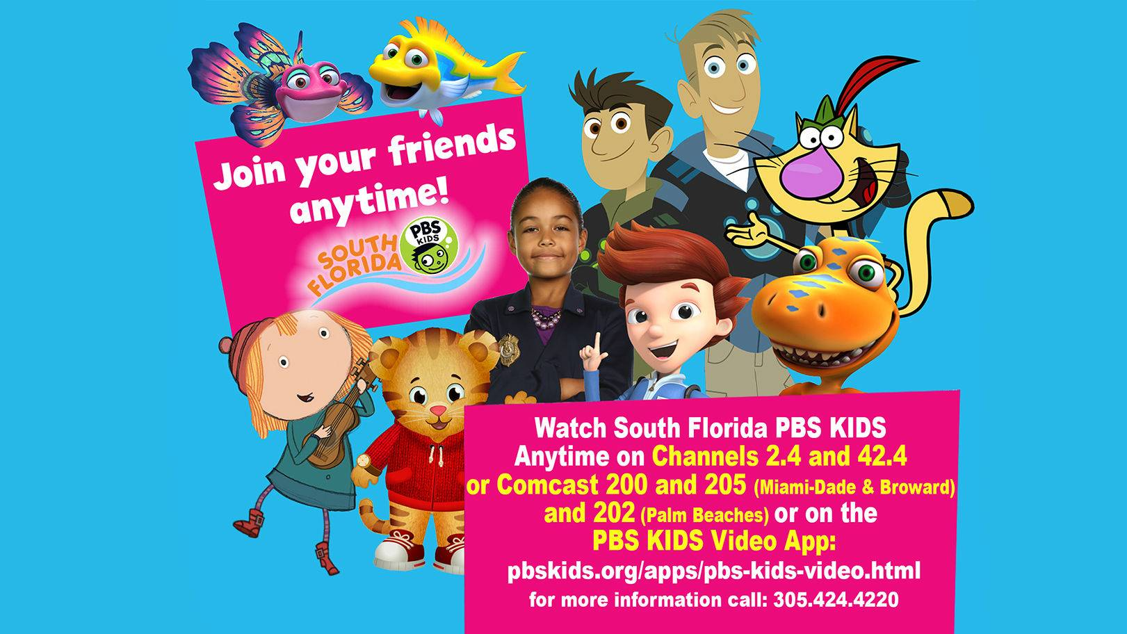 South Florida PBS Kids 24/7 Channel